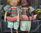 ON SALE PrimitiveDolls Best Friends Set