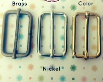 15 Pieces Wire-Formed Slides - 1.5 inch / 39 mm (available in nickel, antique brass, and gold color finish)
