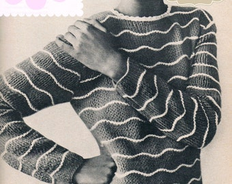 MOD jumper,pattern, knit,vintage,wool,1960s