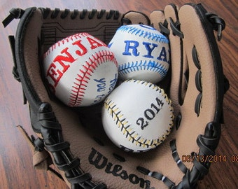 Custom Embroider a Baseball or Softball Instructions