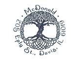 Custom Celtic Tree of Life Rubber Stamp return address