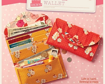 Have It All Wallet - Straight Stitch Society - Sewing Pattern
