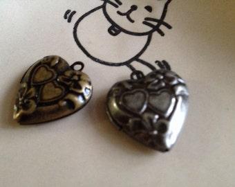 Kawaii - Heart LOCKET 20x20 mm - Code 122.936