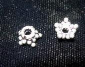 Thai Silver 5 Point Star Bead Caps