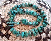 Vintage Native AmericanTurquoise Nugget Necklace