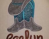 CowGirl Cowboy T-shirt Embroidered  Western newborn - Childrens size Birthday FREE PERSONALIZATION