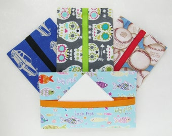 YOU CHOOSE Gift Pack of 10 Tissue Holders