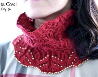 Tenta Cowl Kit with Beads FREE SHIPPING