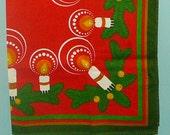 scandinavian christmas tablecloth