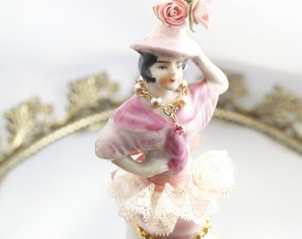 Miss Serena Art Doll Assemblage Art Doll One-of-a-kind Mixed Media Sculpture