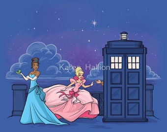 The Princess and the Doctor Medium Print (Item 03-332-BB)
