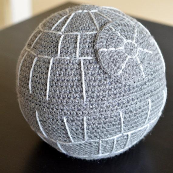 Death Star Amigurumi Pattern : Star Wars Death Star Crochet Amigurumi PDF Pattern from ...