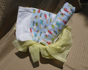 Up In The Air Baby Blanket Set