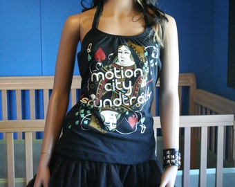 Motion City Soundtrack MCS halter top recycled XL XLarge