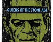Queens of the Stone Age QOTSA Screen Print Concert Poster by Print Mafia