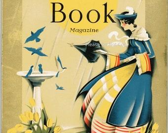 Golden Book Magazine with Cover Art by S. Stuart Leech April 1931, Vol. 13 No. 76 Complete Vintage Magazine