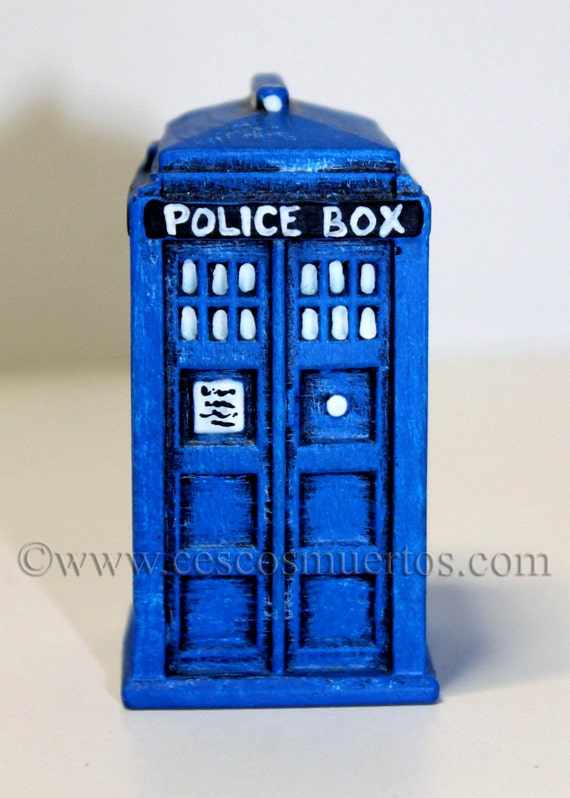Dr Who TARDIS Paper Weight