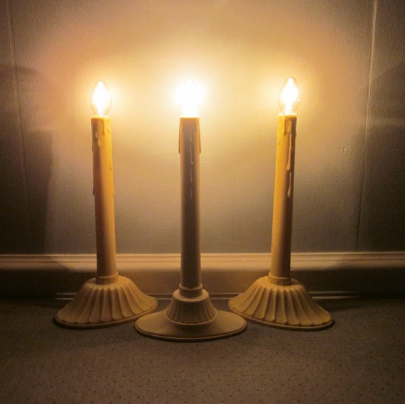 Window Candles For Windows Without Sills