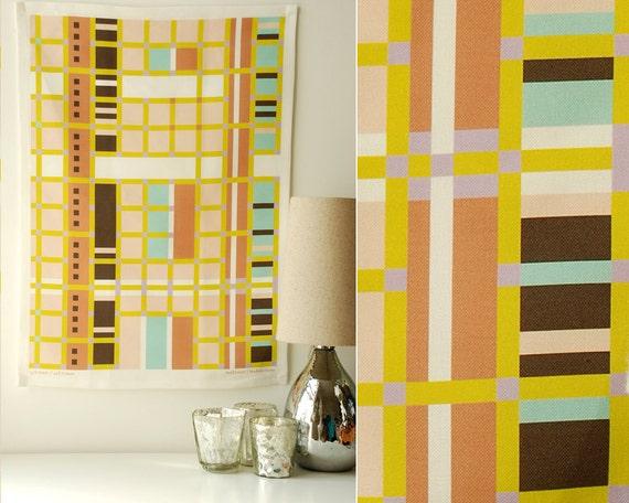 SALE! - Cityblocks Tea Towel - For a modernist kitchen