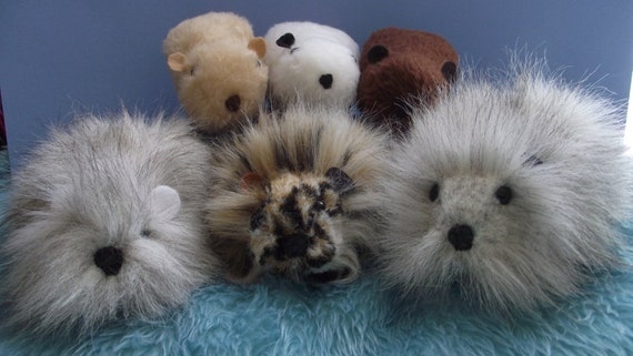 Guinea Pig/Cavy Stuffed Animal Pattern to SEW Instant Download Guinea Pig Pattern