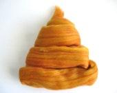 Color Fusion - 19 Micron Merino Top -  Ginger - 4oz