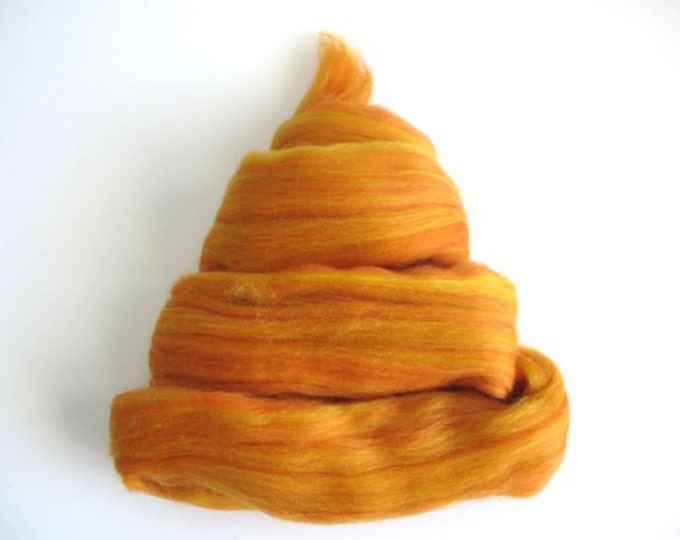 Color Fusion - 19 Micron Merino Top -  Ginger - 1oz