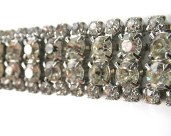 Weiss Rhinestone Bracelet Vintage 50s