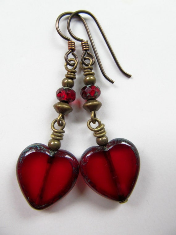 https://www.etsy.com/listing/176355682/red-hearts-czech-glass-beaded-niobium
