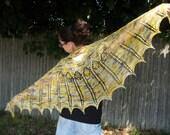 Solar Flare - Knit Lace Shawl