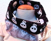 Skulls Baby/Toddler Scarf or Drool Bib