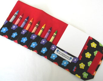 Crayon Wallet - Flowers