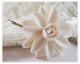 Dahlia Hair Clip Pin - Dahlia Hair Flower