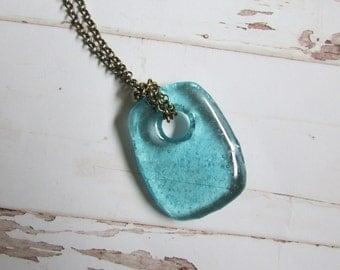 Antique Vintage Mason Jar pendant Necklace
