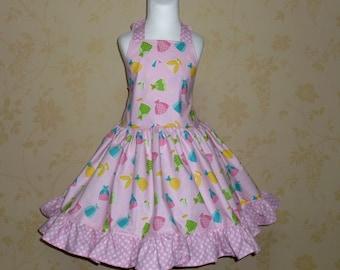 Custom Boutique Happy Ever After  halter dress
