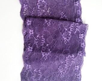 Purple Boot Cuffs, Leg Warmer, Lace Boot Cuffs, Women's Shoe Accessories Boot Purple Topper Leg Toppers