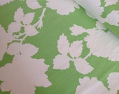 SUPER SALE Garden Distric Fabric by Heather Bailey beautiful home decor fabric - Nouvelle Rose in Green -1 yard or by the yard