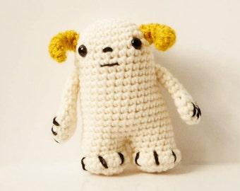Star Wars Wampa Crochet Amigurumi Pattern