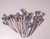 3 Pack Set-Wire Blinged Out Pokes-Smokers Pipe Cleaner-Random Colors