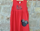 Make it a Mouse Monogram Personalized Dress - 12m-8 years - Julianne Originals