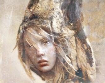 Jenessa - Fine Art Print by Chopoli