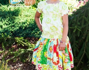 The Stripwork Skirt Sewing Pattern