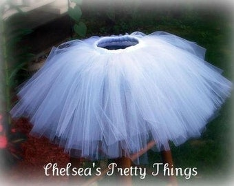 Teen or Adult Sized Custom Tutu You Choose Colors Up to 45 inches around!