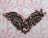 NEW Large Copper Filigree Finding 1267C