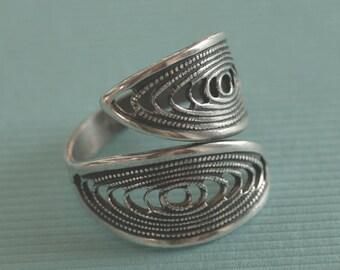 Adjustable Filigree Ring Finding 2812
