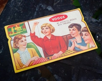 VIntage Vogue Needle Book Needles
