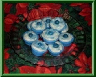 Grubby Wax Tart Cupcakes Blueberry Muffin and Vanilla