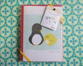 Blank Note Card Set of 4- Penguin & Peep Variety Pack 2