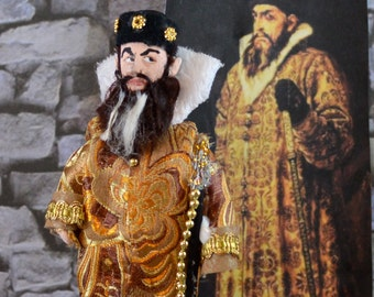 Ivan the Terrible Doll Miniature Historical Art Character