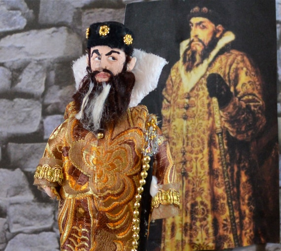 Ivan the Terrible Doll Miniature Historical Art Character