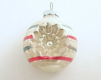 Vintage Christmas Ornament Glass Shiny Brite